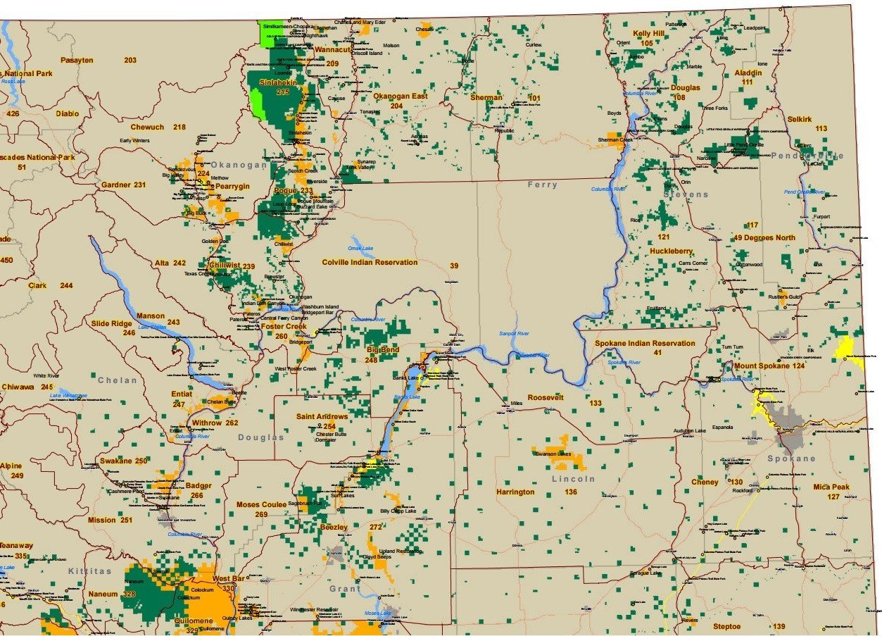 Discover WA NortheastArea Map