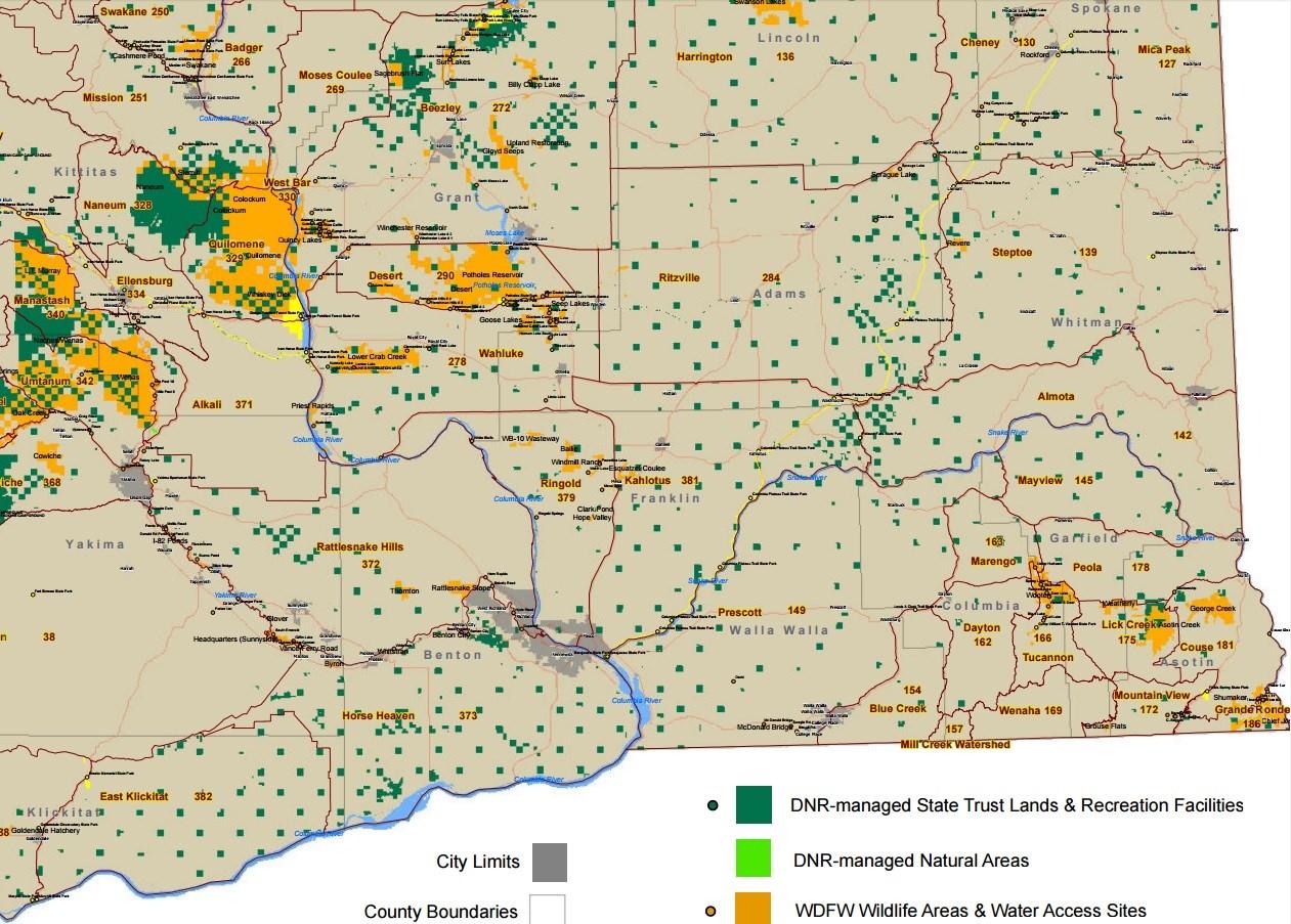 Discover WA Southeast Area Map