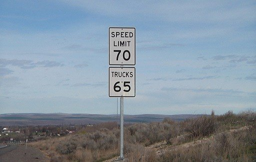 New signs have been installed on the interstates.