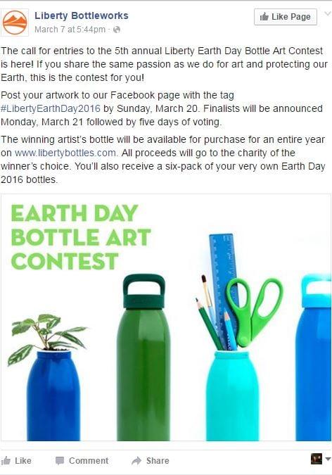 Liberty Bottleworks Facebook Post