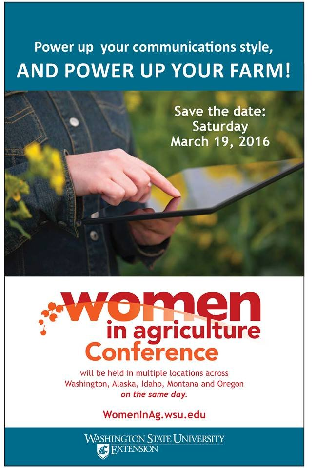 Women in Ag Conference Flyer
