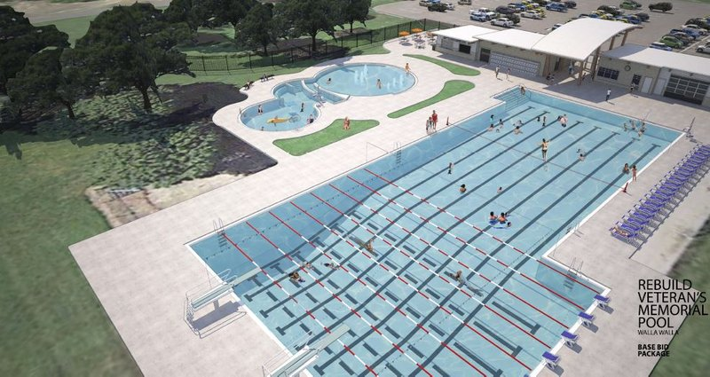 City of walla walla expects to open new community pool by - Public swimming pools tri cities wa ...