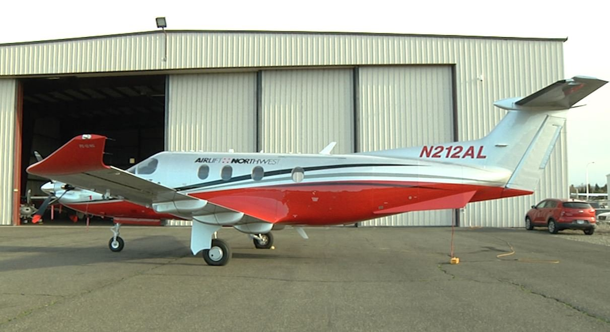 Pilatus PC-12 turboprop airplane