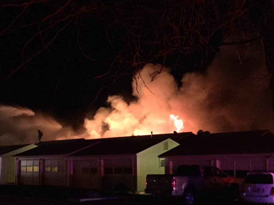 Early morning fire in Yakima