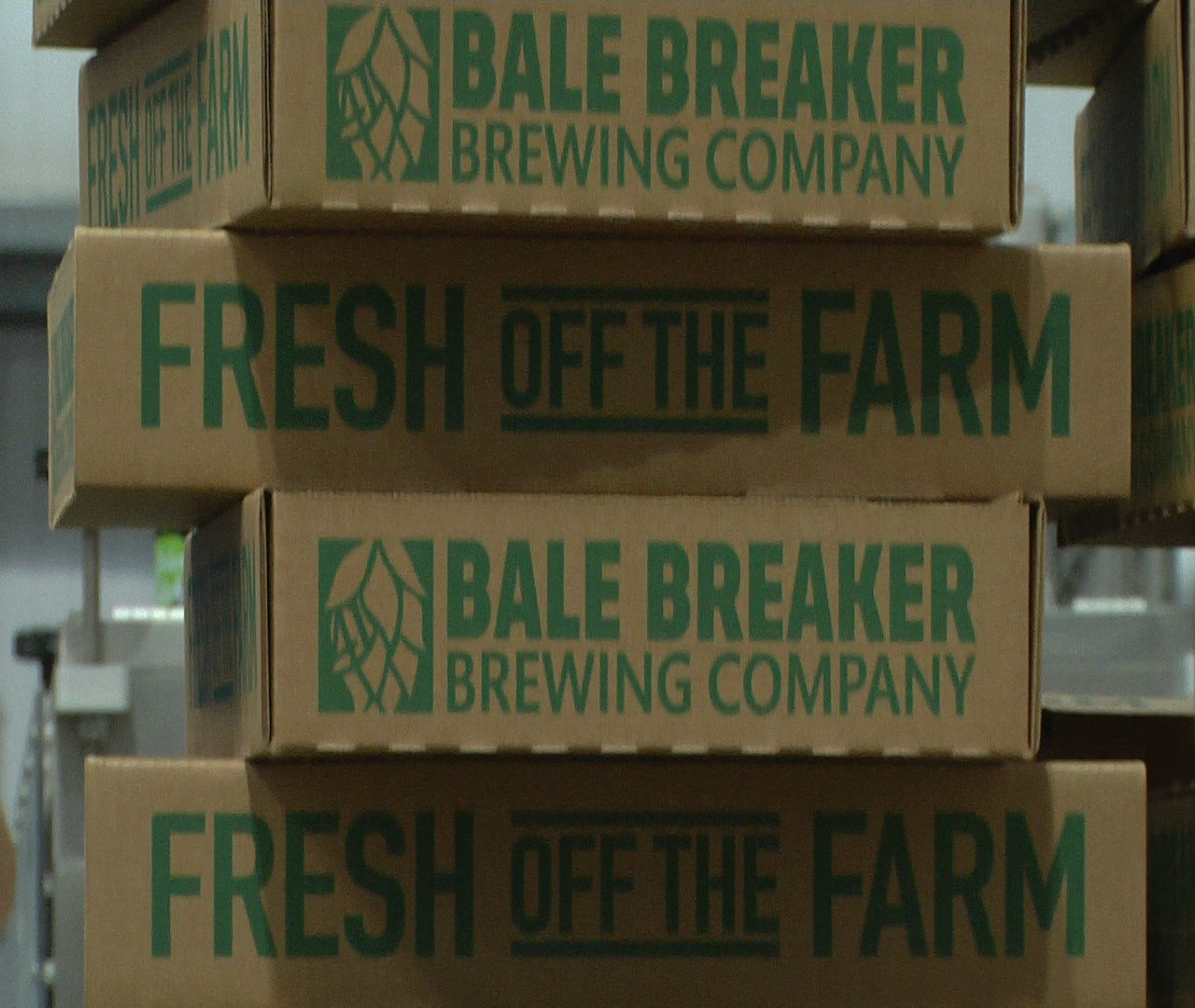 Bale Breaker shipping boxes