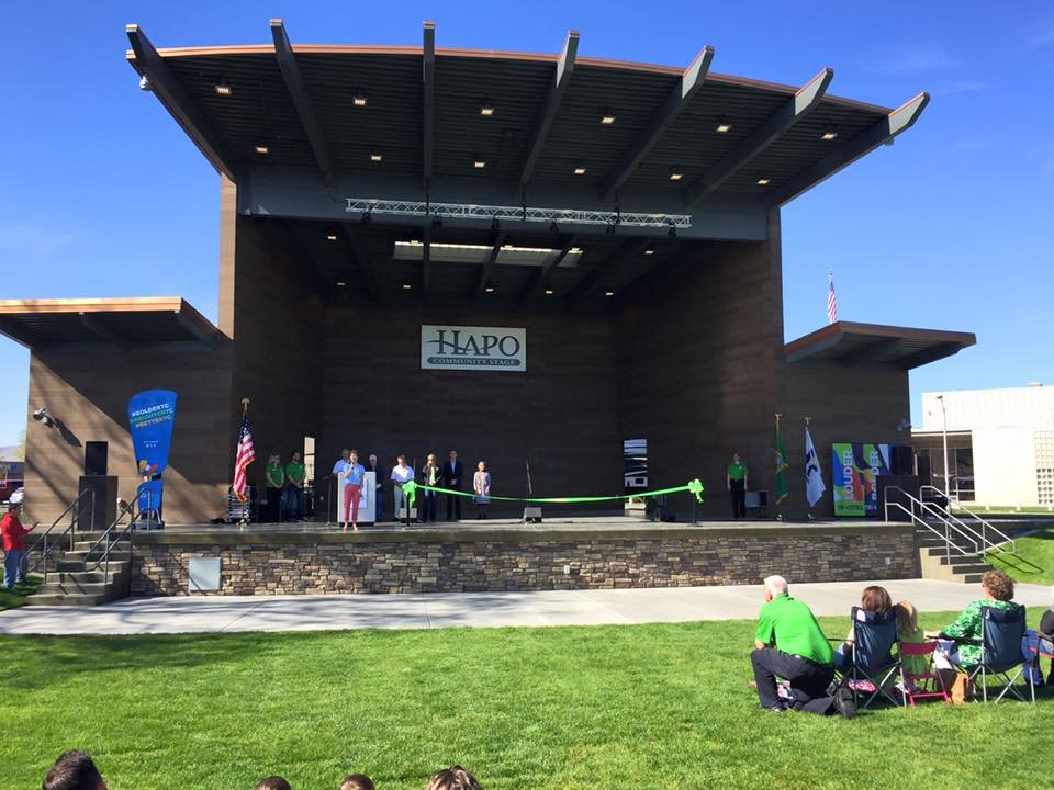 The HAPO Community Stage officially opened.