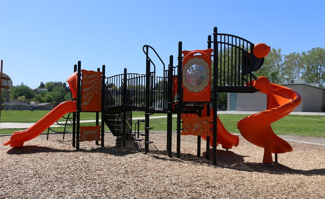 an example of playground equipment that will be installed.