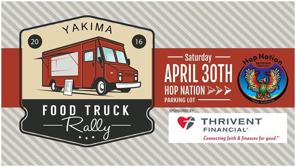Yakima Food Truck Rally Flyer
