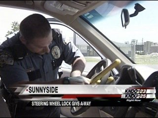 Sunnyside Wa Weather >> Sunnyside Police Department Gives Out Free Steering Wheel ...
