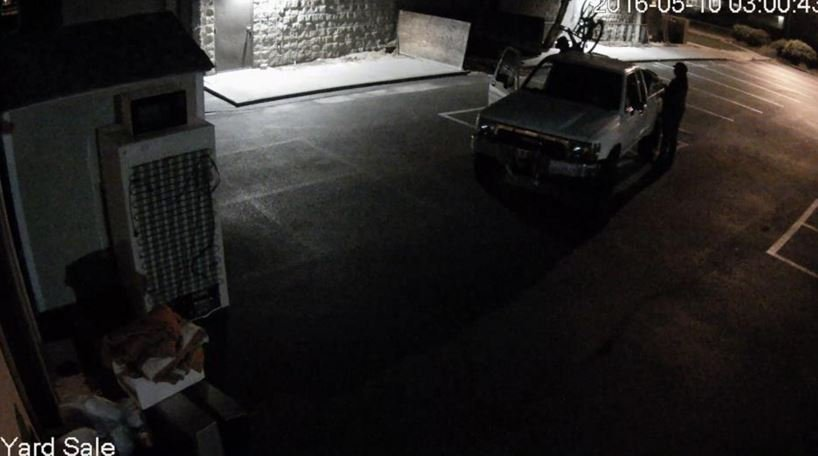 """That truck is a 1989 to 1991 white Toyota pickup with what officers are calling a """"distinct"""" bumper. Call (509) 628-0333 if you have information."""