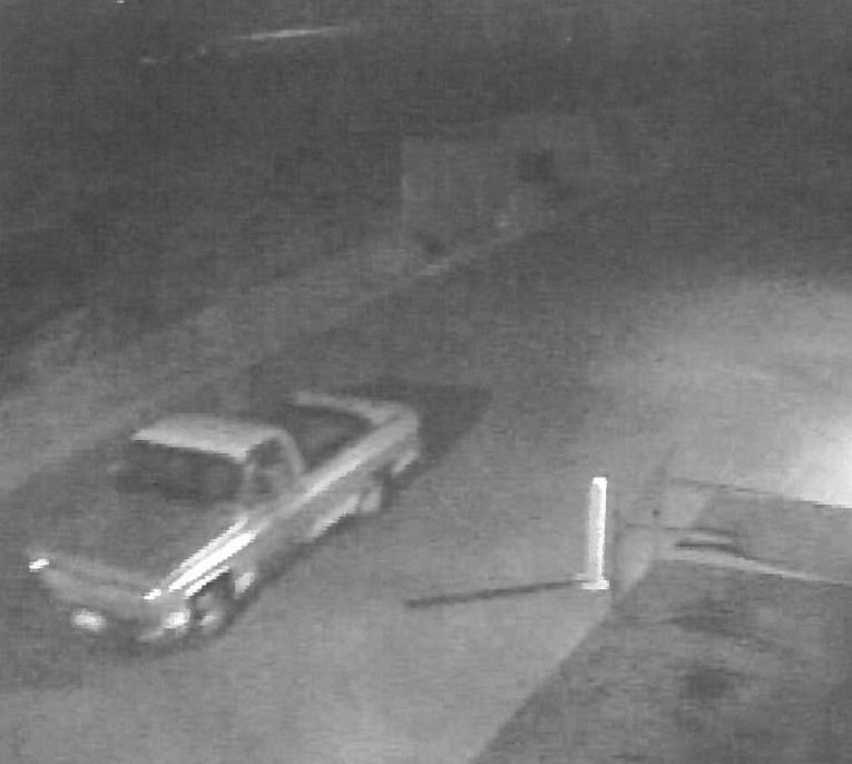 The car the suspect is driving appears to be a 70's or 80's pickup with mismatching drivers side door.If you know who he is, give dispatch a call at 509-628-0333.