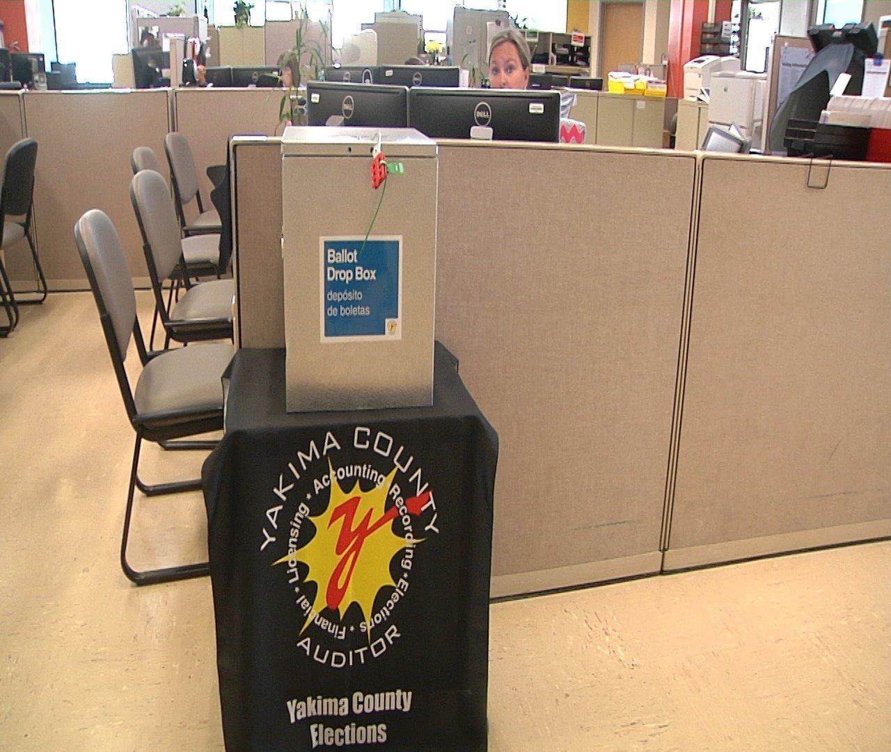 Ballot Box in Yakima County Elections Office