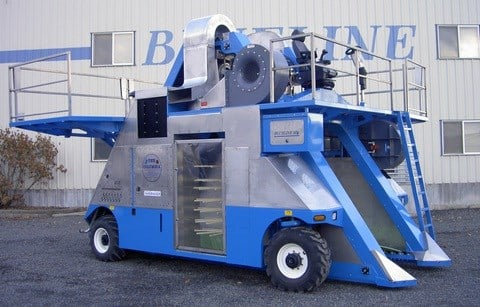 Berry Harvester from Blueline Manufacturing