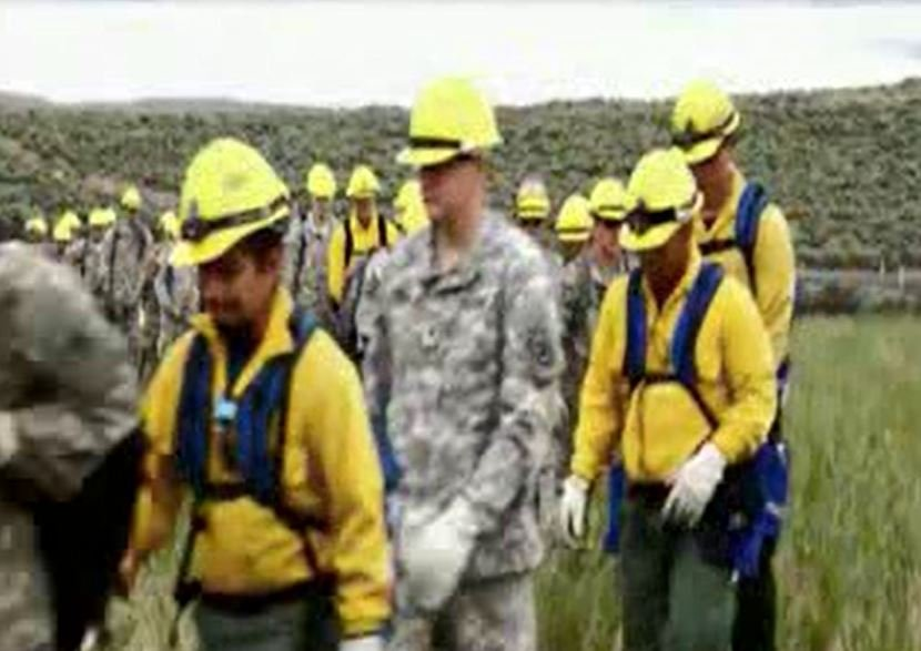 After consecutive record wildfire seasons, Governor Jay Inslee directed the National Guard to train these citizen soldiers with DNR to be ready for this season, which is expected to be a difficult one.