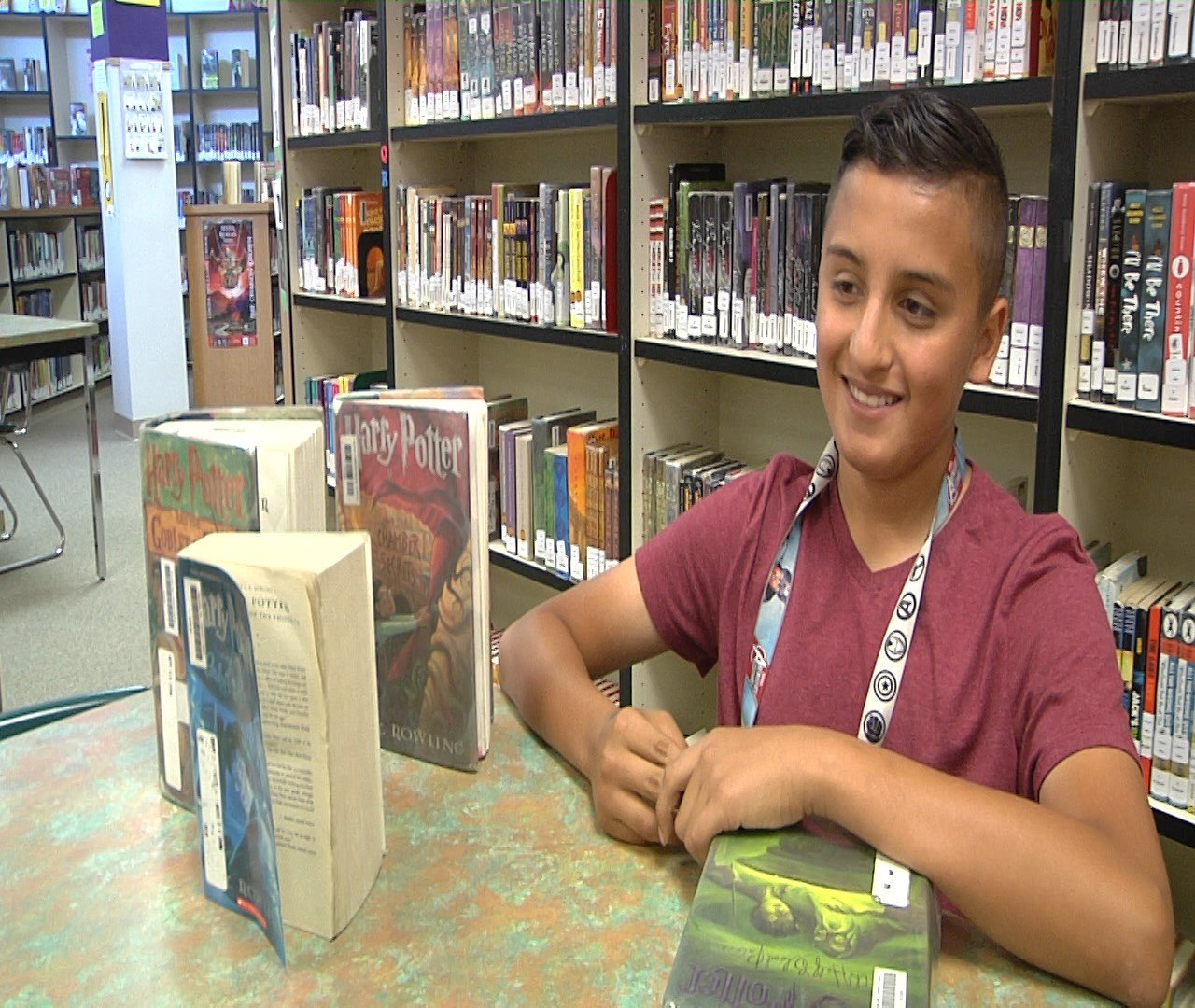 Julio Sanchez, 13 years-old, earns national recognition
