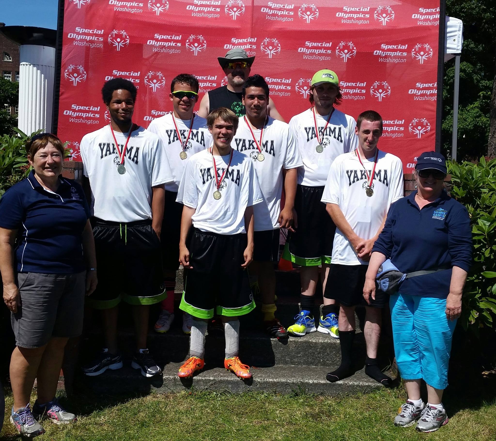 The Yakima Special Olympics soccer team wins first place at the state tournament