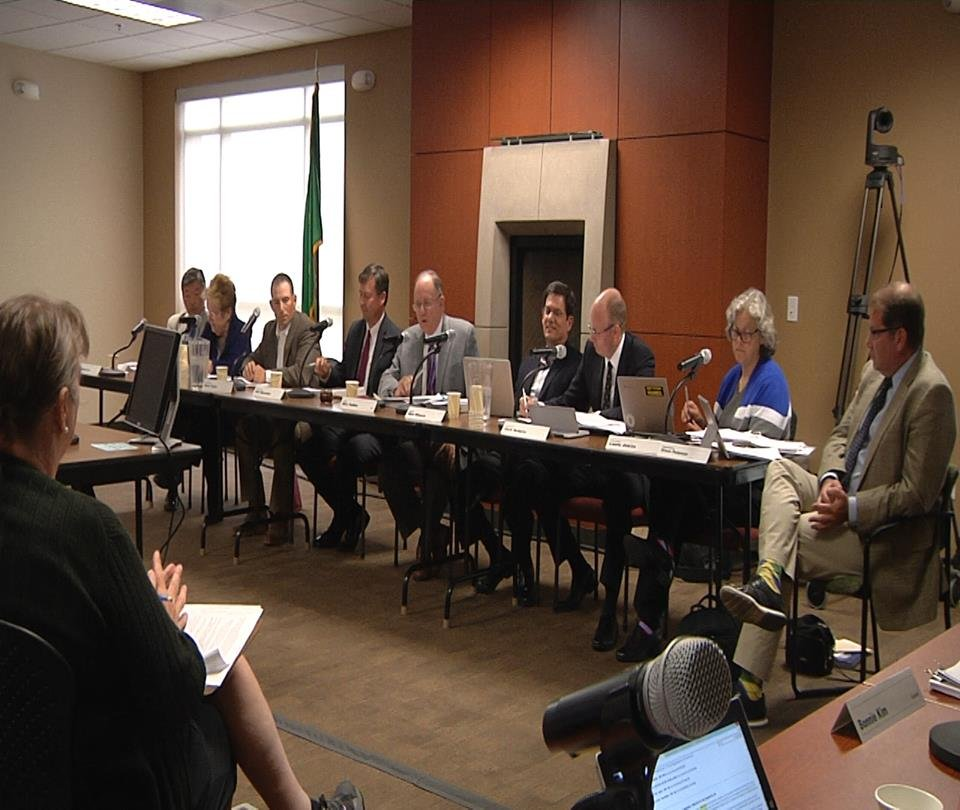A petition to repeal the transgender bathroom rule caused a hearing today in Yakima