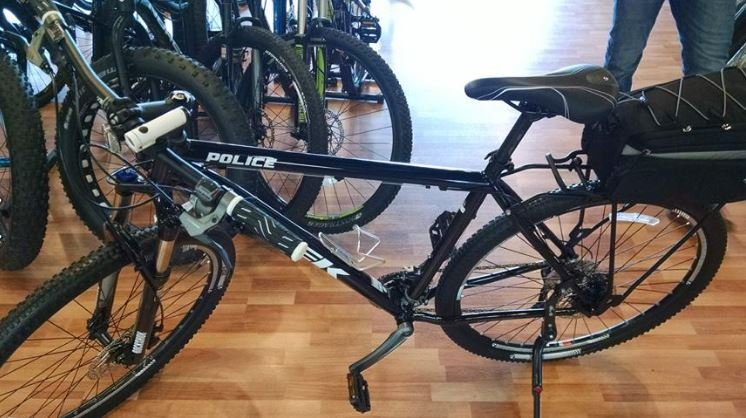 """Even hands from our community are pitching in, Greenies bike shop just sold WRPD two bikes at cost, bikes that normally cost a fortune. """"Darren did that for us. Fixed them all up. He is going to help us with the maintenance too, its very good what he did"""
