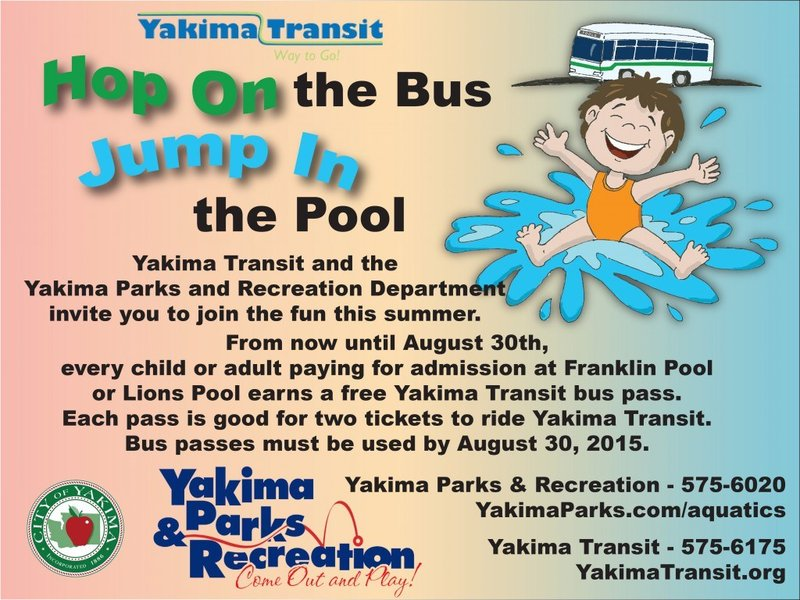 City of yakima offers free bus rides to city pools nbc - Public swimming pools tri cities wa ...