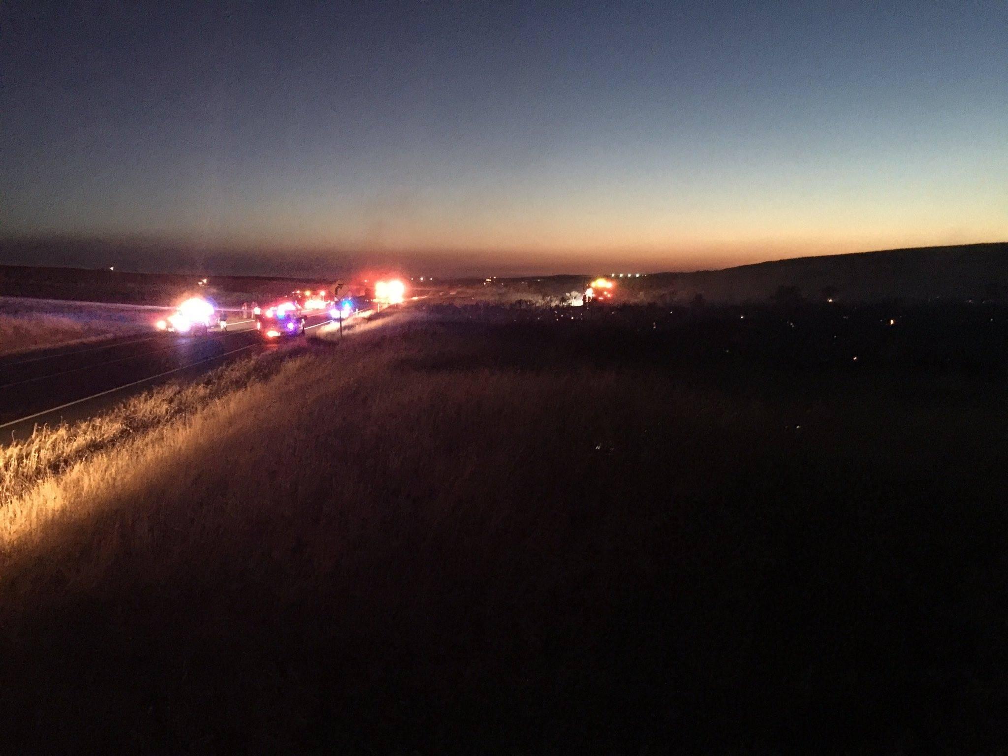 Deadly crash on SR 14