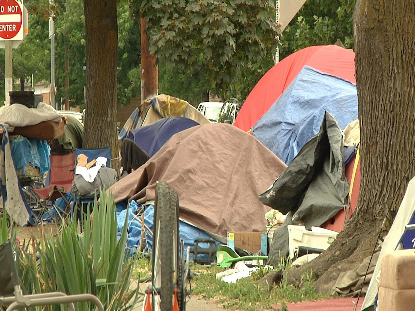 Homeless Encampment (File)