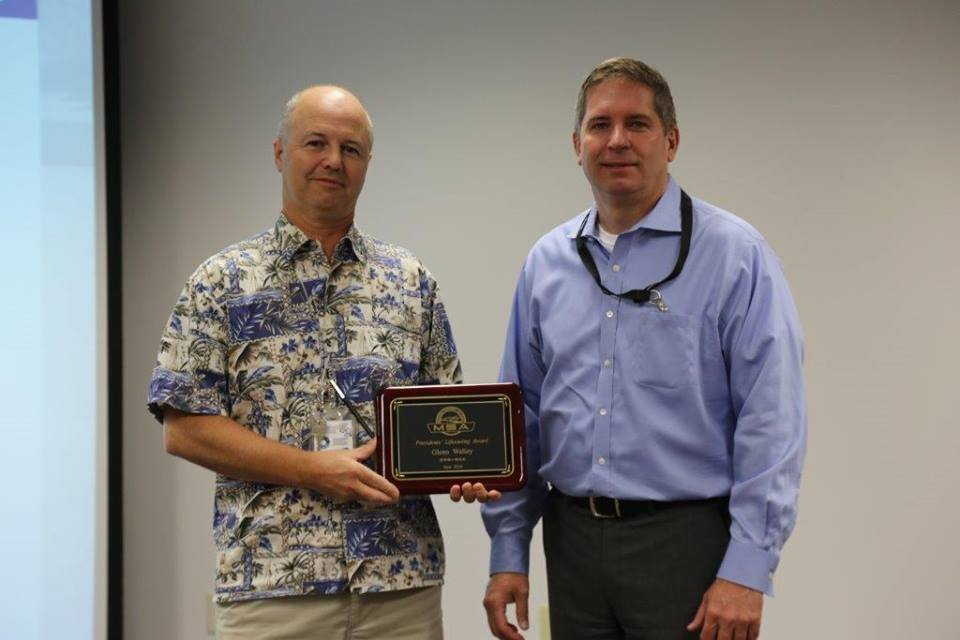 MSA employee earns President's Lifesaving Award
