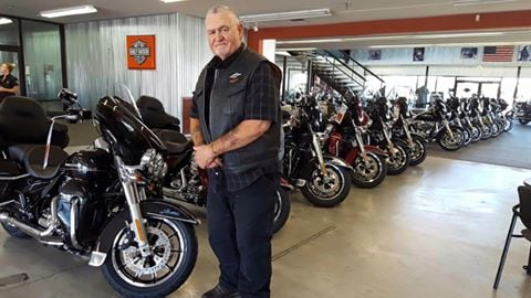 Sam Dedrick at Rattlesnake Mountain Harley-Davidson