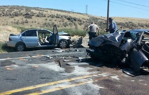 Hwy  Car Accident Spokane