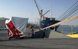 On the docks in Qatar - PHOTO:  Joe Roop