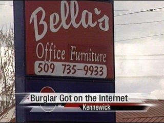 Burglary Suspect Updates Myspace Page During Burglary