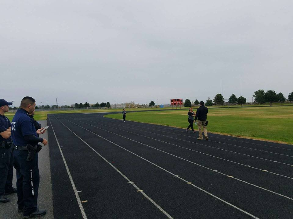 Kndu Tries Pasco Police Physical Ability Test Nbc Right