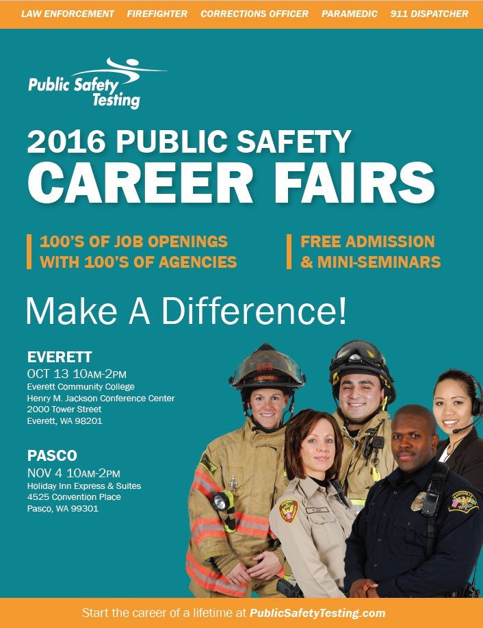 PST Career Fair Flyer
