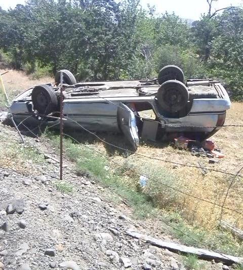 One vehicle rollover on Ahtanum Rd, Friday