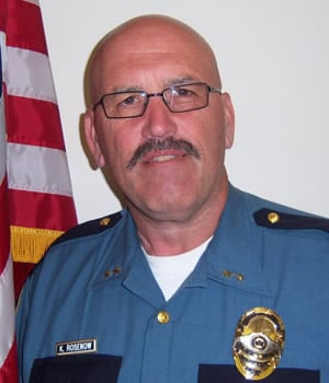 Kelly Rosenow, announced retirement Friday as Dep. Police Chief for YPD
