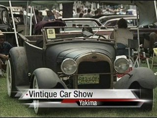 Hundreds Of Car Enthusiasts Check Out The Vintique Car Show - Car shows in washington state