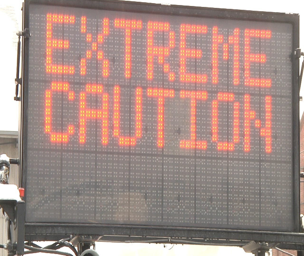 Icy road conditions result in closure of part of I-90 ...