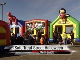 Safe Treat Street Halloween party at Ranch & Home in ...