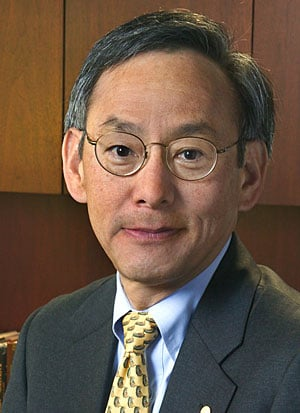 Energy Secretary, Steven Chu