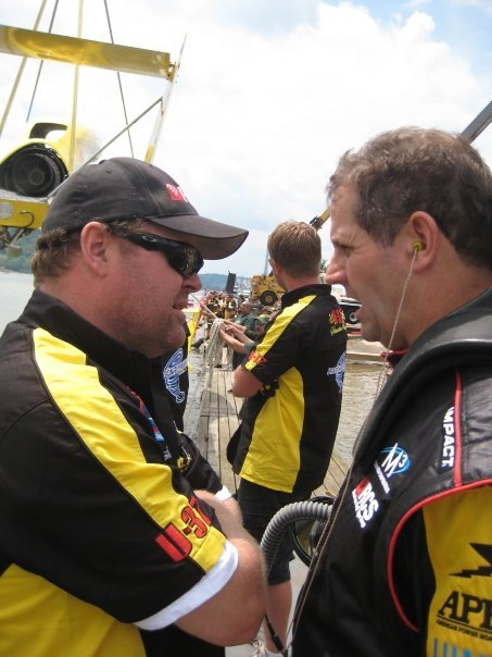 Scott Raney, left