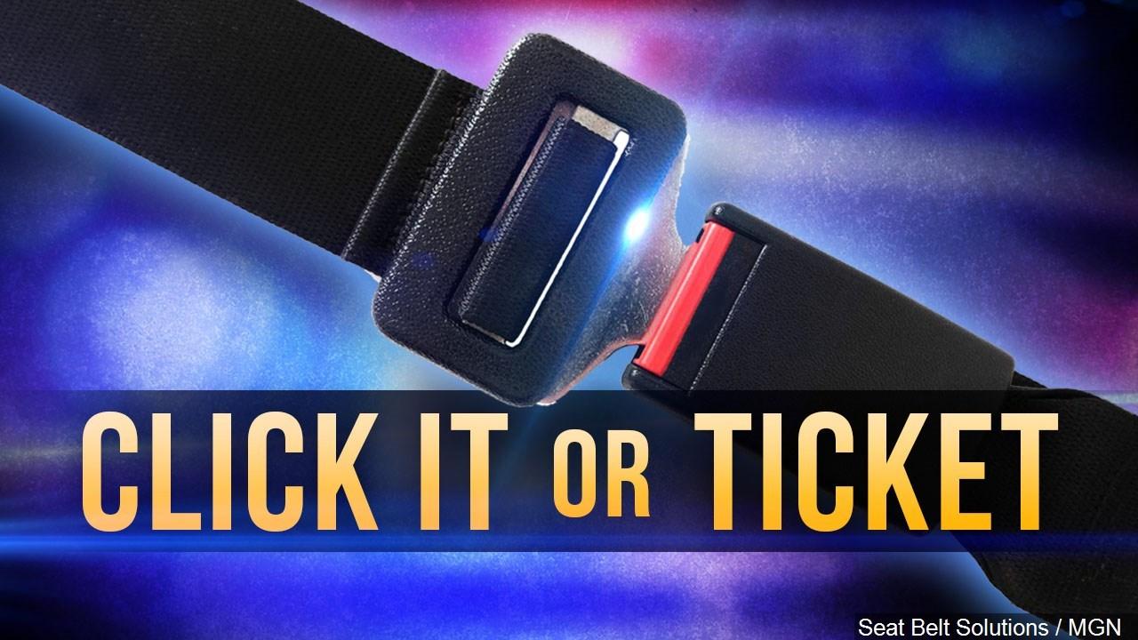 "Click It Rv >> ""Click It or Ticket"" seat belt enforcement campaign starts Monda - NBC Right Now/KNDO/KNDU Tri ..."