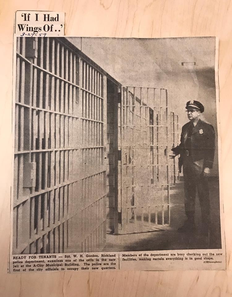 Courtesy: Richland Police Dept. Archives