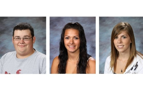 Colby Allemand, 16; Taylor Lanning, 16; Kassidy Gilmore, 15