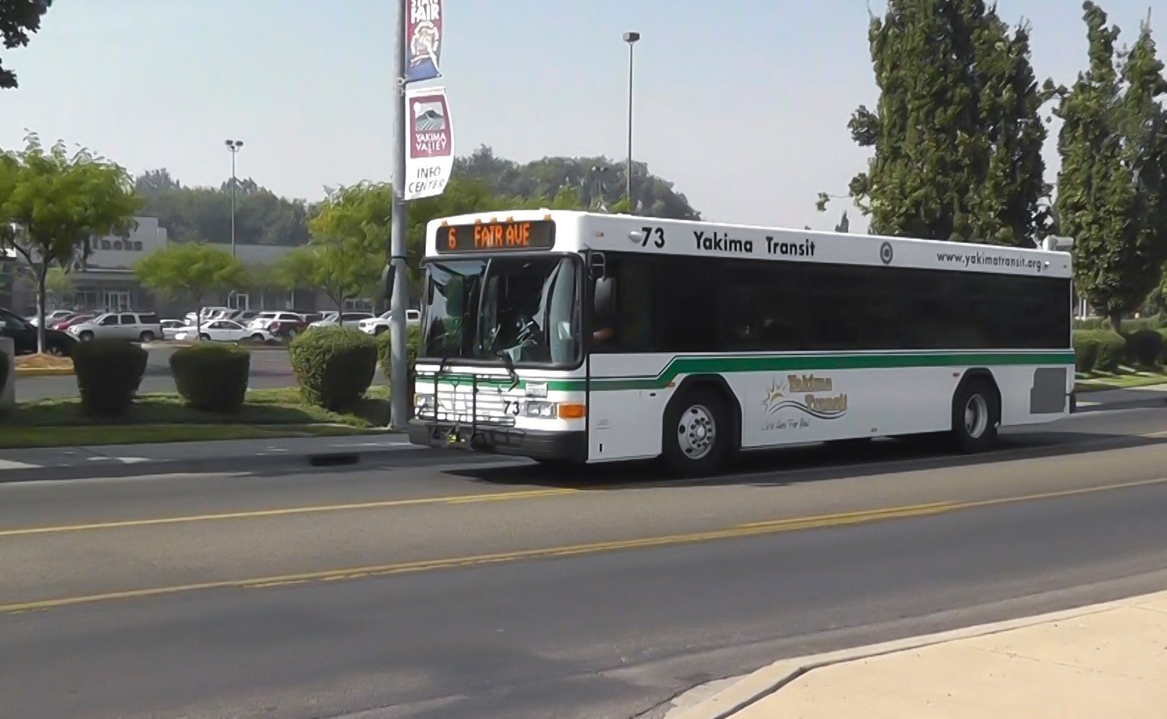 Yakima Transit Providing Free Shuttle Bus Service To The Fair