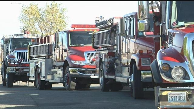 Wildfire crews in South Dakota assist firefighters in Northern California