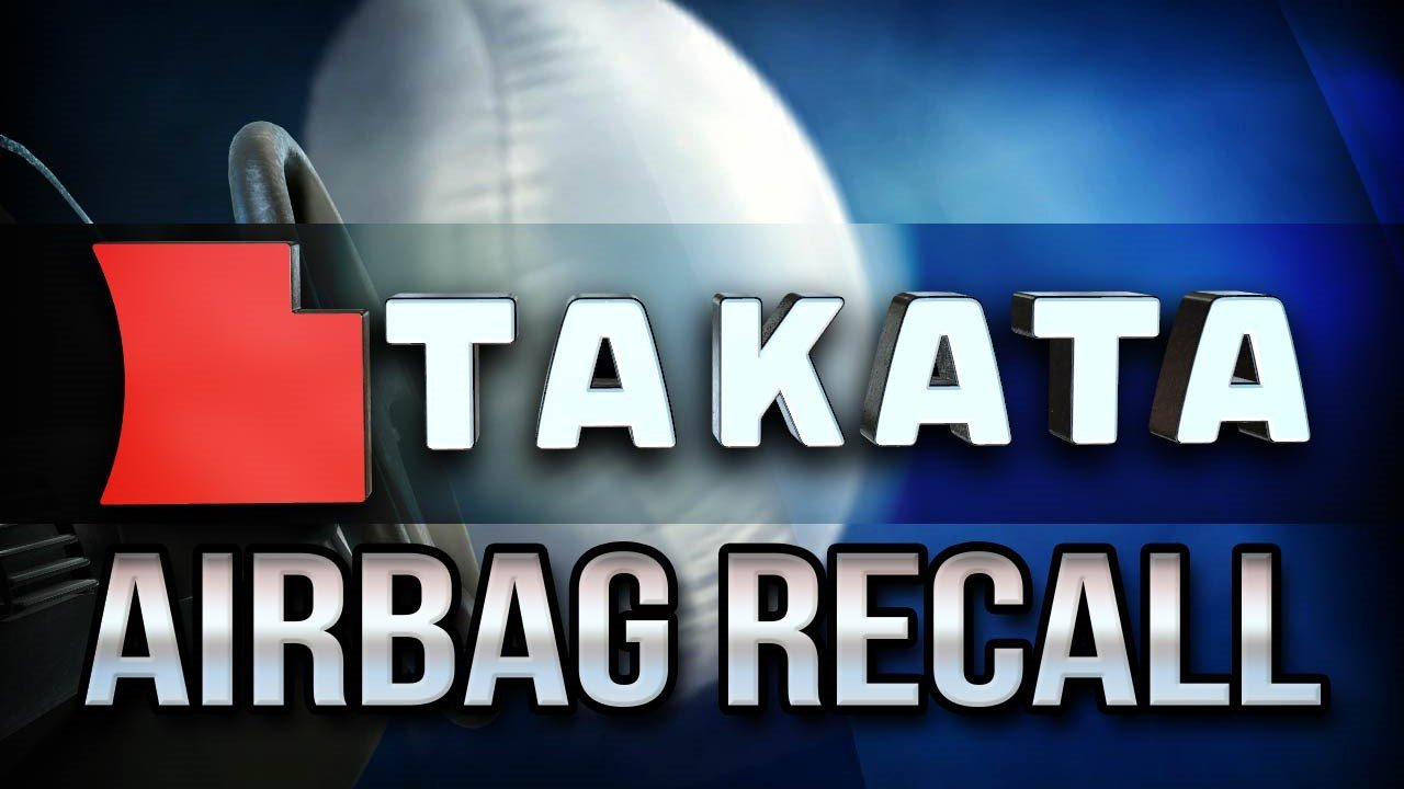 Takata recalls another 3.3 million vehicles in the United States to replace faulty frontal airbag inflators