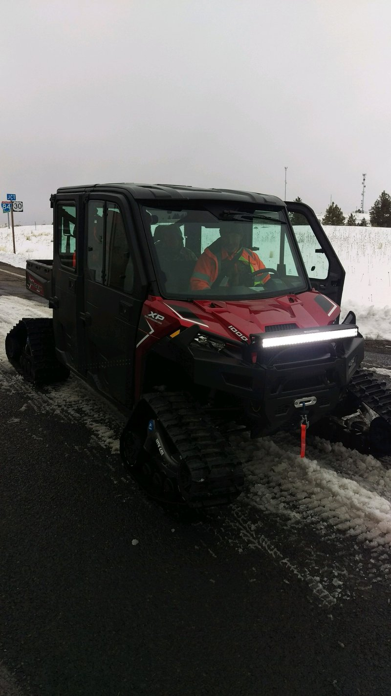 New ucso all terrain vehicle deployed twice on first day for Betterall motors yakima wa