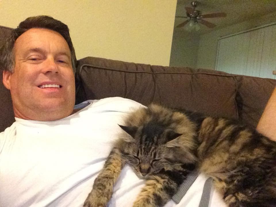 Matt Winter's cat was taken by a coyote.