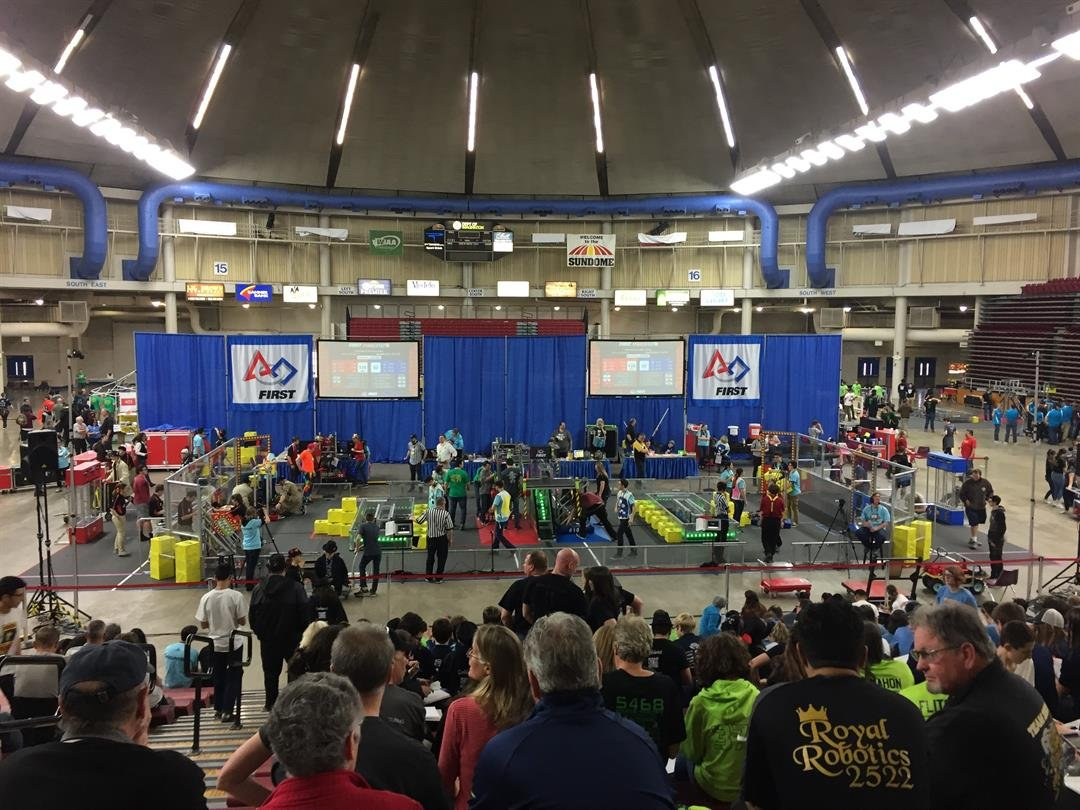 First Washington Robotics Competition a success