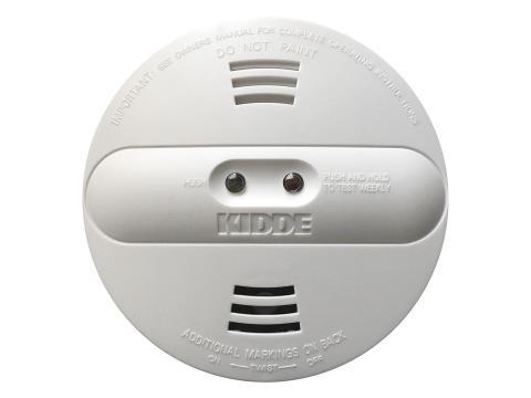 Recalled Kidde dual sensor smoke alarm