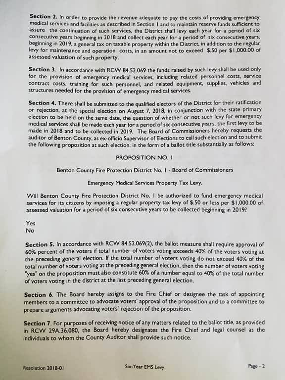 Page 2 of the levy resolution